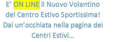 Volantino sportissima on line - Piscina azzurra scandiano ...